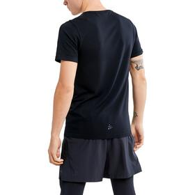 Craft Fuseknit Light Camiseta Manga Corta Cuello Redondo Hombre, negro